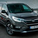 Обновленная Honda CR-V четвертого поколения